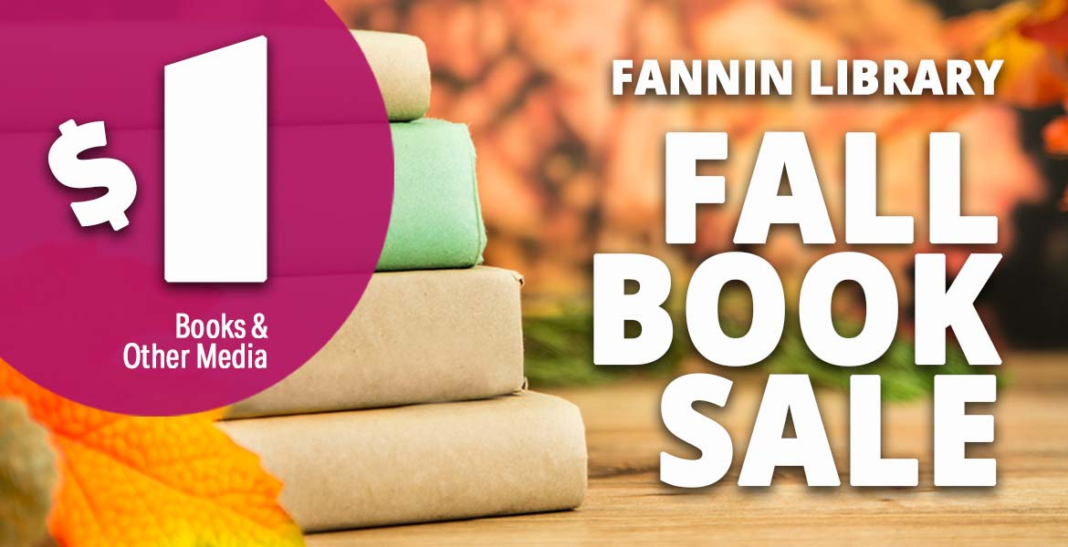 Join us for Phoenix College's Fall Book Sale, September 13 through 18.