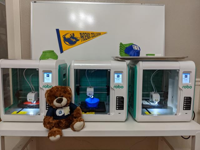 Bear with 3D Printers