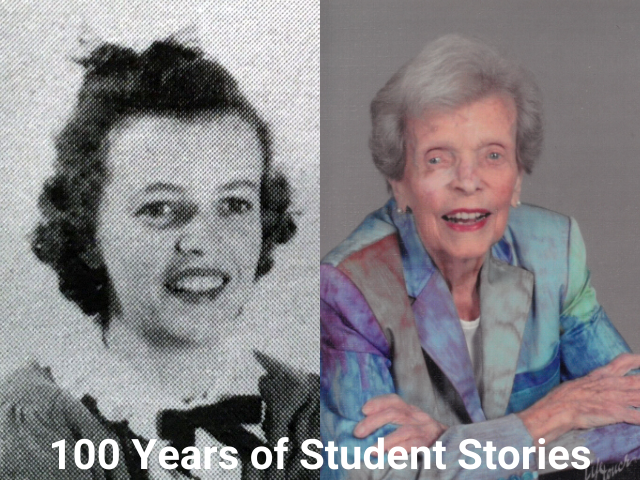 Betty Cline - Then & Now