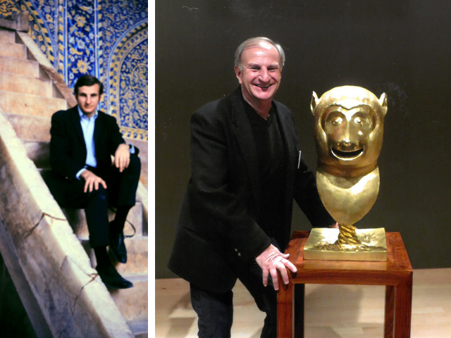 Peter Banko in Iran and at the Phoenix Art Museum